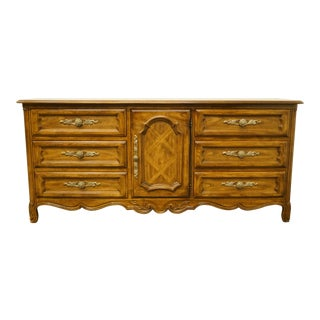 Drexel Heritage Cabernet II Collection Walnut Italian Provincial Dresser For Sale