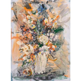 'Spring Flowers' by Harold Frank, National Academy of Design, Paris, Art Student's League, National Watercolor Society For Sale