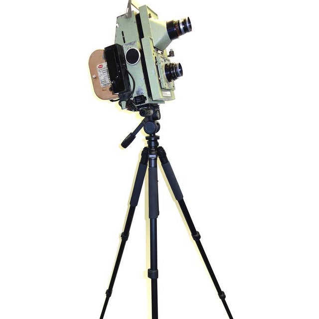 1950s Vintage School Class Picture Roll Film Camera. Circa Mid Century. Display as Sculpture. Reduce: Was: $2999.00 Now: 799.00 For Sale - Image 5 of 8