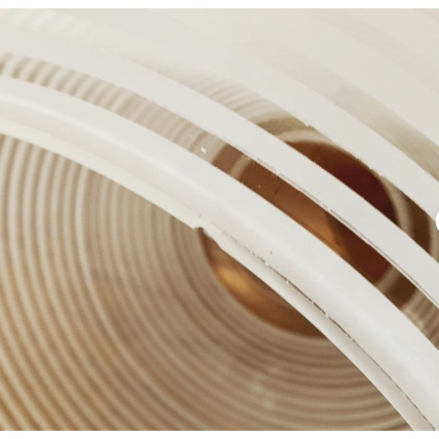 Glass Mid-Century Modern Glass Pendant Lamp by Wilhelm Wagenfeld for Peill and Putzler For Sale - Image 7 of 8