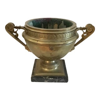 French Grand Tour Bronze Urn For Sale