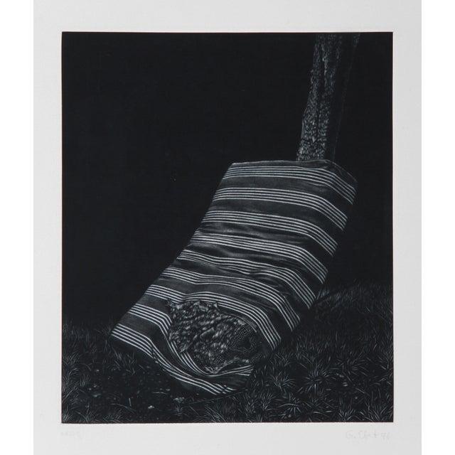 Modern Gerde Ebert, Mattress, Mezzotint For Sale - Image 3 of 3