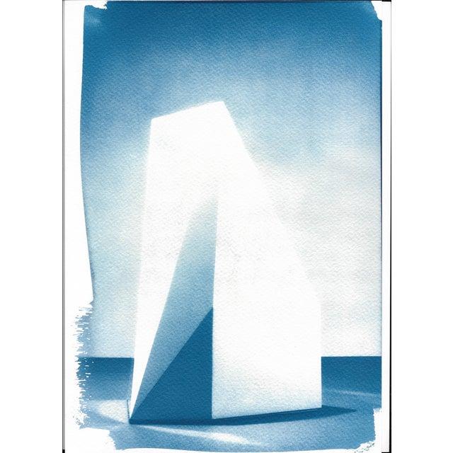Cyanotype Print - Sol Lewitt Minimalist Sculpture - Image 2 of 4