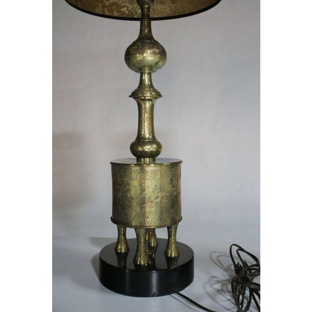 Pair of James Mont Style Lamps For Sale In Chicago - Image 6 of 8