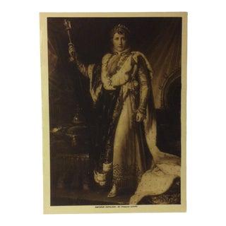 """Circa 1915 """"Emperor Napoleon"""" the Mentor Association Print For Sale"""