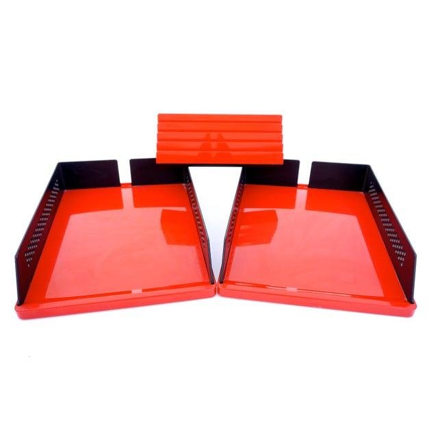Barbieri e Marianelli for Rexite 3-Piece Designer Desk Set - Image 7 of 10