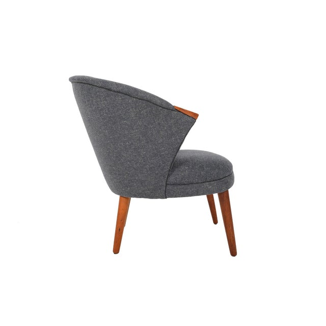 Bent Møller Jepsen Wool Lounge Chair - Image 5 of 8
