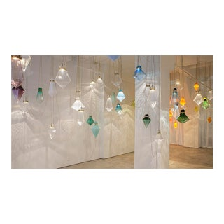 Crystal Atmosphere, Individual Glass Prisms by Frida Fjellman For Sale