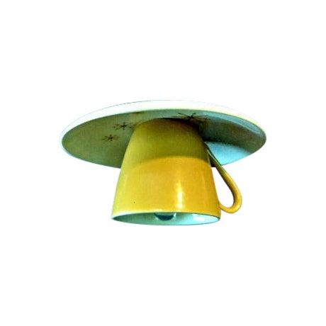 Star Glow 'Atomic' Tea Cup & Saucer Pendant Light - Image 1 of 3