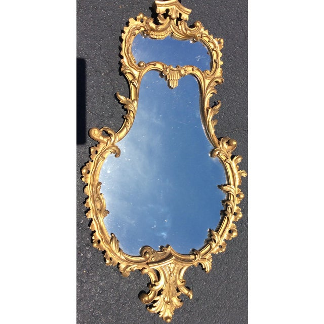 19th Century Italian Patterned Gilt Wood Mirror. This beautiful detailed mirror would look beautiful on any wall and in a...
