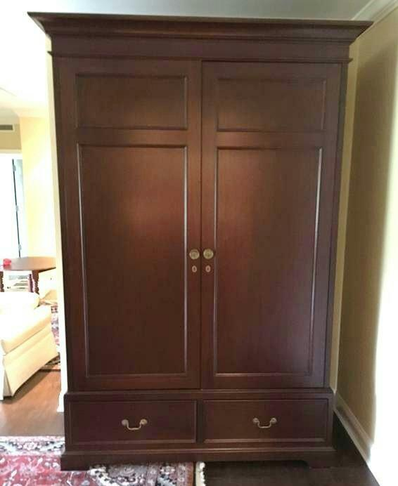 Superieur Solid Cherry Armoire, Bench Made   Image 2 Of 3