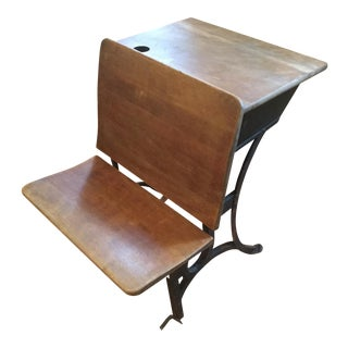 1900s Antique Children's School Desk For Sale