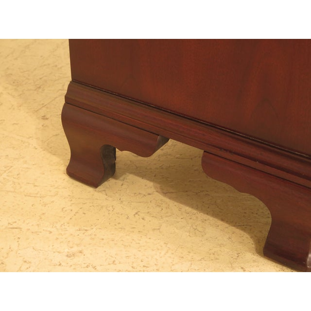 Mahogany Councill Craftsmen Mahogany Triple Dresser For Sale - Image 7 of 11