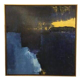 Blues Original Framed Acrylic on Canvas