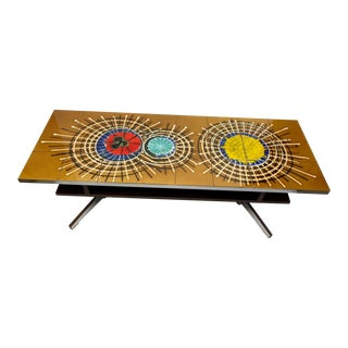 1960s Mid-Century Belarti Tiled Coffee Table For Sale