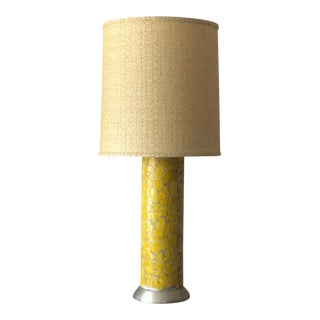 Tall Ceramic Lamp by Bouck White For Sale