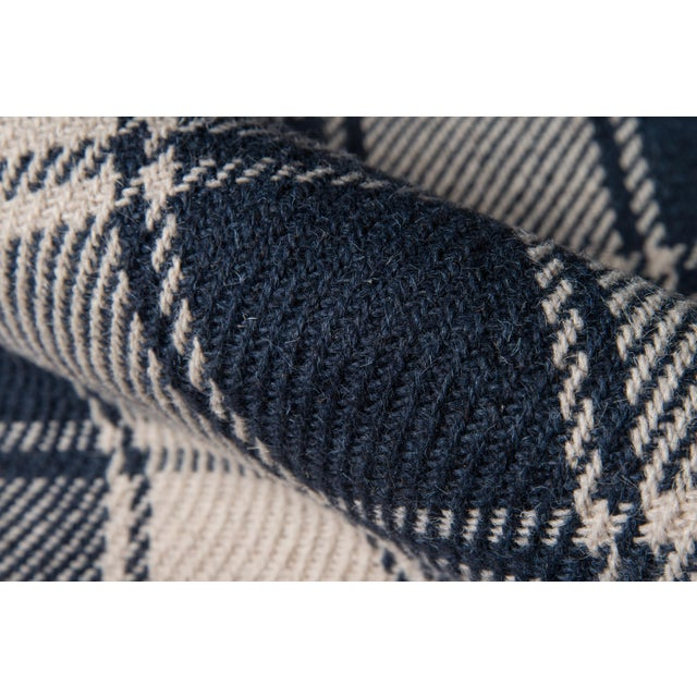 Erin Gates by Momeni Marlborough Charles Navy Hand Woven Wool Area Rug - 8′ × 10′ For Sale - Image 4 of 7