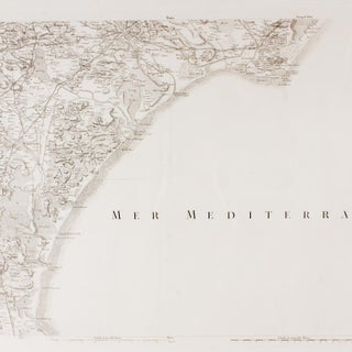 Antique Southern France & the Mediterranean Framed Map Preview