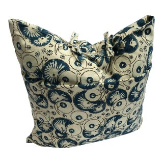 Folk Art Les Indiennes Pillow Cover For Sale