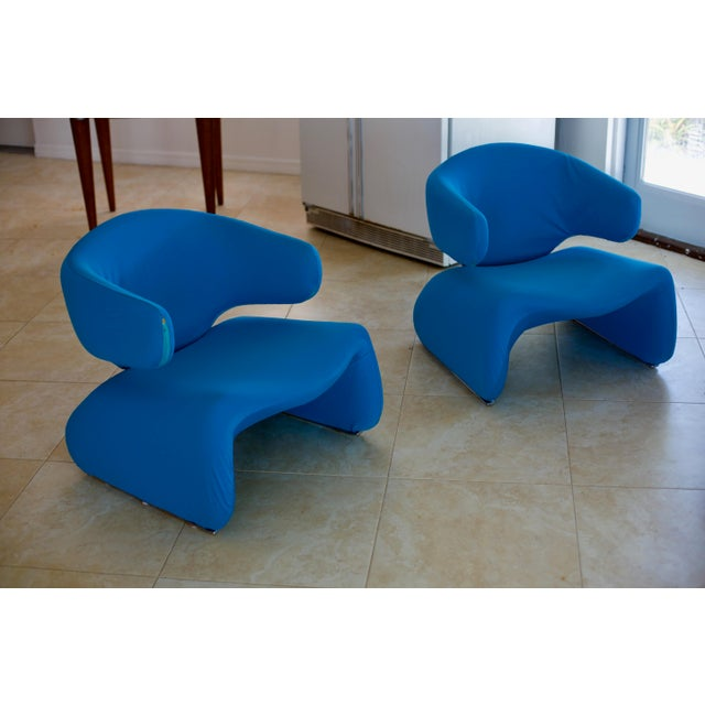 Djinn chairs (2), Ottoman, and Sofa by Olivier Mourgue. Need reconditioning. My husband was the original buyer, having...