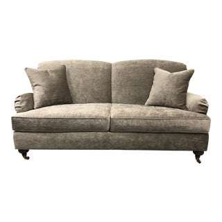 Ethan Allen Small Oxford Sofa For Sale