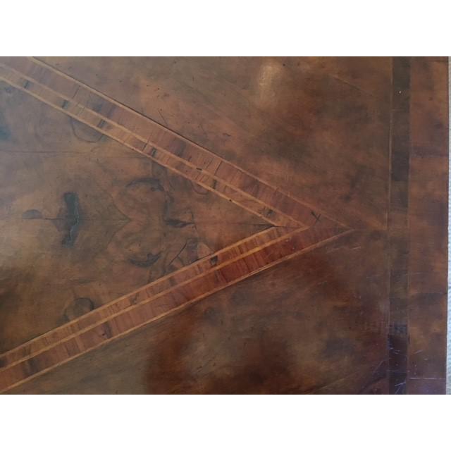 Wood Bennett Co. Custom Painted Desk For Sale - Image 7 of 8