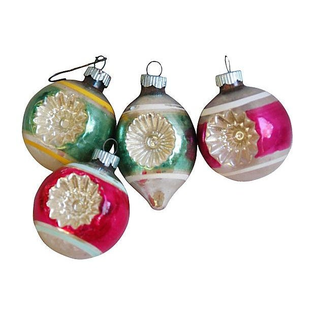 1950s Christmas Tree Ornaments - Set of 12 - Image 2 of 5