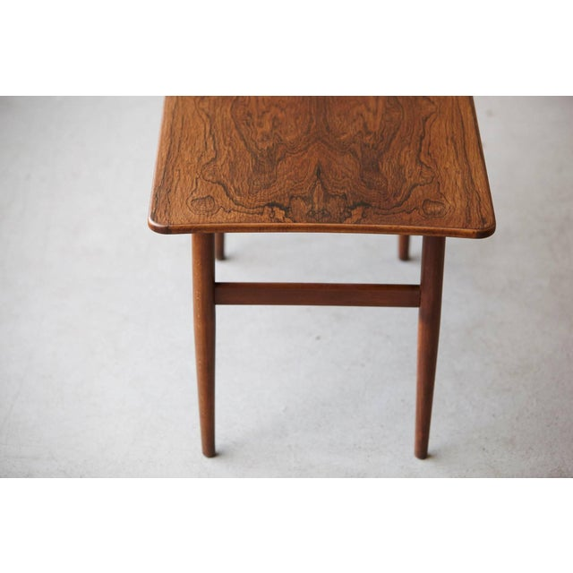 1960s 1960s Vintage Rosewood Coffee Table by Kurt Østervig for Jason Møbler For Sale - Image 5 of 11