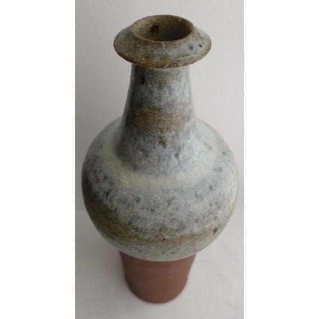 1960s Ceramic Vase by Finn Lynggaard For Sale - Image 5 of 7