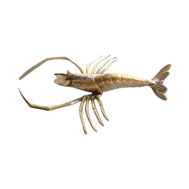 Vintage Brass Lobster - Image 1 of 4