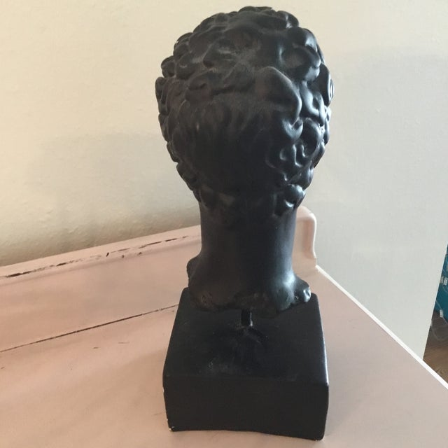 Bust of Head on Base For Sale - Image 4 of 5