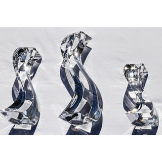 Contemporary Mikasa Serpentine Candlesticks - Set of 3 Preview