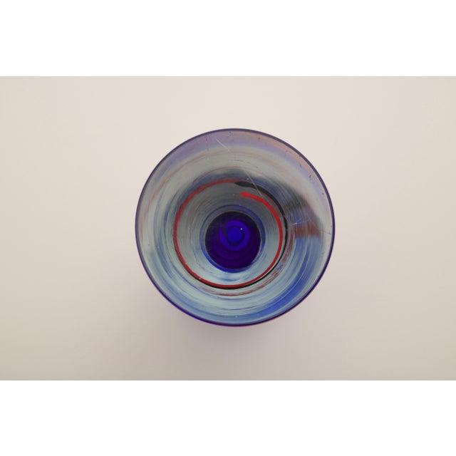 Modern Czech Art Glass Vase - Image 6 of 7