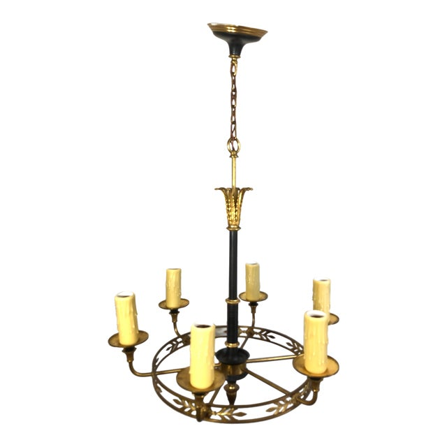 1920s French Empire Style Chandelier For Sale