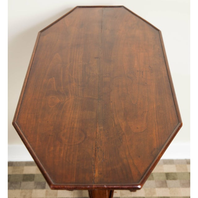 Brown 19th Century Neoclassical Directoire Mahogany Trestle Table For Sale - Image 8 of 10