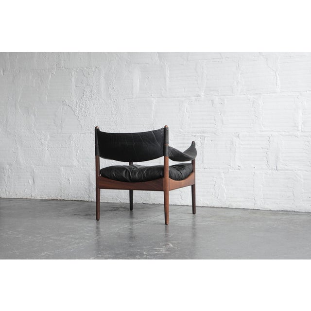 Kristian Solmer Vedel Modus Lounge Chair & Ottoman - Image 7 of 8