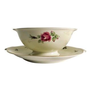 """Vintage Floral Design Rosenthal """"Aida """" Gravy Boat For Sale"""