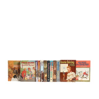 Vintage Whitman Stories for Girls : Set of Twelve Decorative Books For Sale