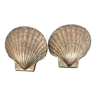 Vintage Brass Shells - a Pair For Sale