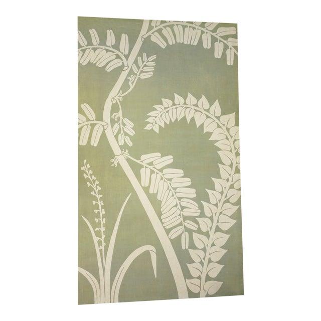 Floral Fern Organic Modern Botanical Art For Sale