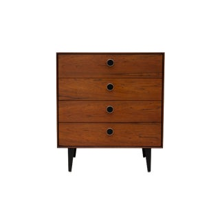 Thin Edge Rosewood Nightstand by George Nelson for Herman Miller For Sale