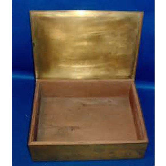 Rockwell Kent Brass Cigar Box - Image 4 of 4