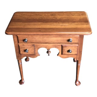 1980s Queen Anne Pennsylvania House Cherry Nightstand For Sale