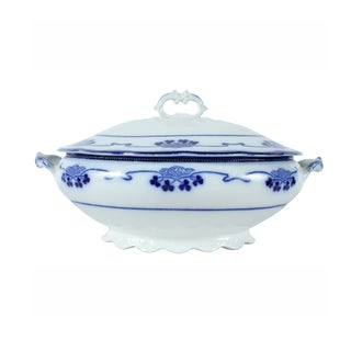 Flow Blue Lorne by Grindley Tureen For Sale