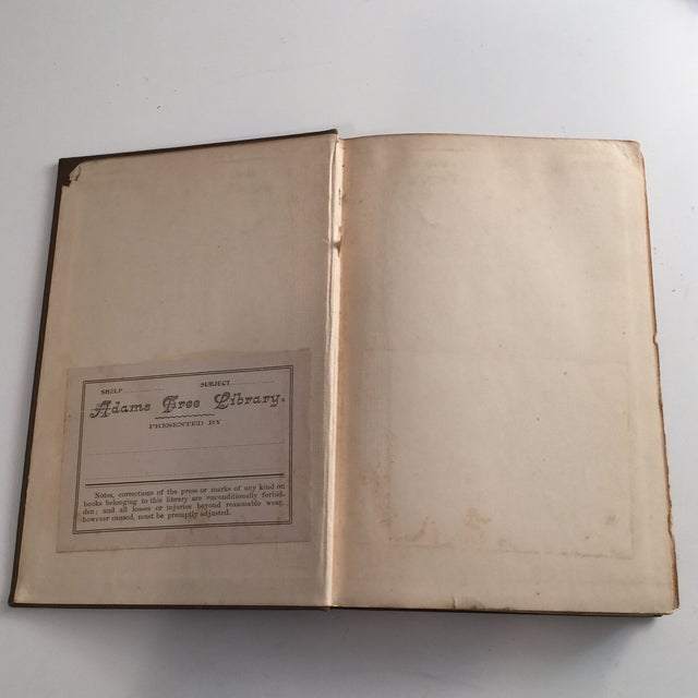 Traditional The Simple Life Charles Wagner Hardcover 1904 For Sale - Image 3 of 8