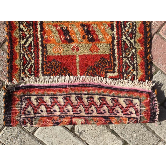 Textile Vintage Anatolian Area Rug For Sale - Image 7 of 8