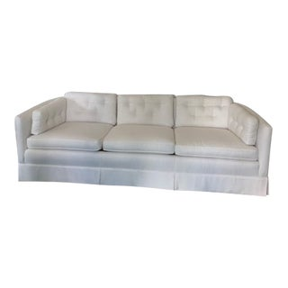 Newly Upholstered Vintage Mid Century Sofa For Sale