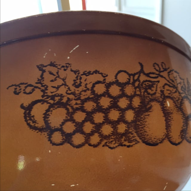 Pyrex Old Orchard Mixing Bowls - A Pair | Chairish