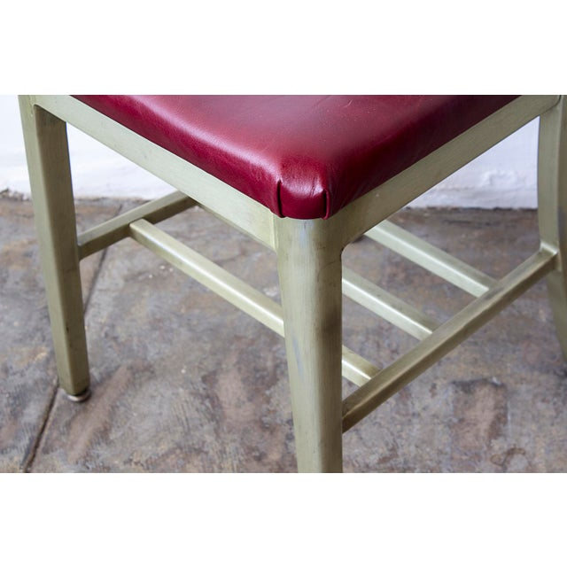 Refinished GoodForm Aluminum Side Chairs - Set of 6 For Sale - Image 5 of 6