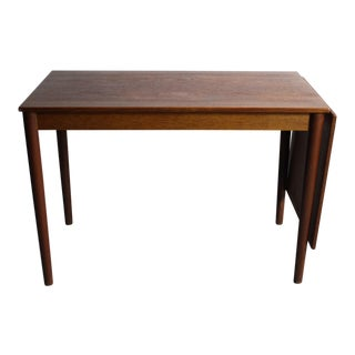 Sleek & Simple Arne Vodder Danish Modern Writing Desk For Sale